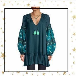 Free People Boho Mix it up Tunic dress        (C5)